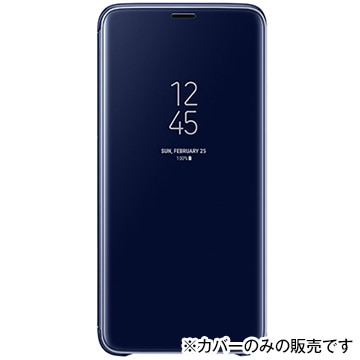 Clear View Standing Cover(S9+用) Blue