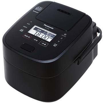 パナソニック スチーム&可変圧力IHジャー炊飯器 5.5合炊き Wおどり炊き(ブラック) SR-VSX108-K