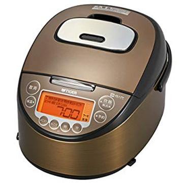 タイガー魔法瓶 IH炊飯器 5.5合炊き ダークブラウン JKT-B103-TK