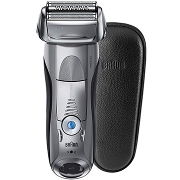 ブラウン メンズシェーバー シリーズ7 水洗い/お風呂剃り可 本革ケース付 7893s-SP