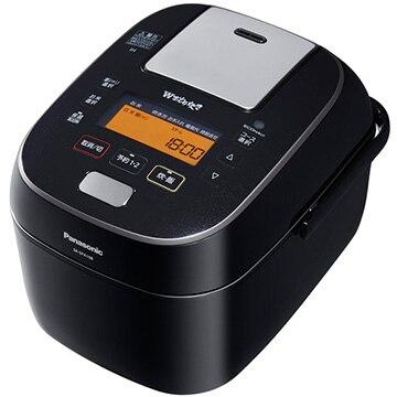 パナソニック スチーム&可変圧力IHジャー炊飯器 5.5合炊き (ブラック) SR-SPA108-K