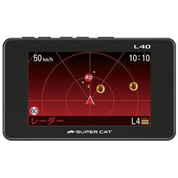 ユピテル 3.2インチ液晶GPSレーダー探知機 L40