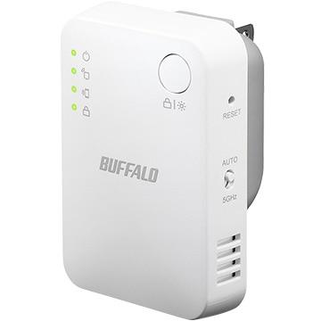 BUFFALO WLAN中継機 11ac/n/g/b 866+300Mb コンパクト PS5メーカー動作確認済み WEX-1166DHPS