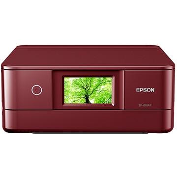 EPSON A4インクジェット複合機 Colorio レッド EP-881AR