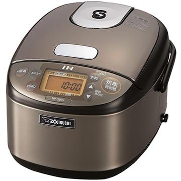 象印 IH炊飯器 極め炊き 3合炊き ステンレスブラウン NP-GV05-XT