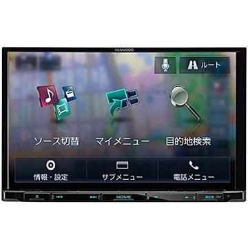 ケンウッド 彩速ナビ 7V型メモリーカーナビ/地デジ/ DVD/USB/SD/Bluetooth/ハイレゾ対応 MDV-S706