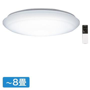 東芝 LEDシーリングライト 8畳用 リモコン付 調光 LEDH81379NW-LD
