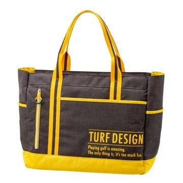 TURF DESIGN ■TURF DESIGN トートバック TDTB-1870 BK/YE
