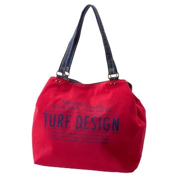 REPAIR ■TURF DESIGN トートバッグ TDTB-1773 RED