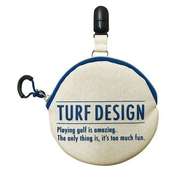 TURF DESIGN ■Ball Cleaner & Putter Catcher TDBP-1870 BE/BL
