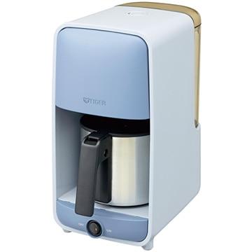 タイガー魔法瓶 コーヒーメーカー 0.81L サックスブルー (0.81L) 1~6杯分 ADC-A060-AS