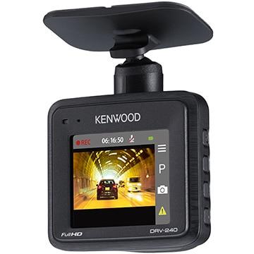 ケンウッド フルHD ドライブレコーダー 16GBマイクロSDカード付属 DRV-240