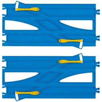 タカラトミー R24 複線わたりポイントレール