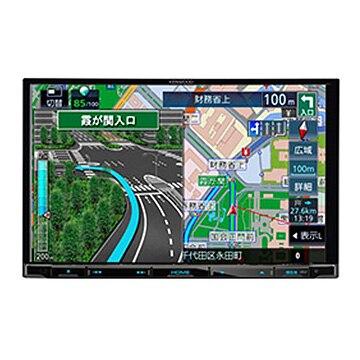 ケンウッド 彩速ナビ 8V型メモリーカーナビ/地デジ/ DVD/USB/SD/Bluetooth/ハイレゾ対応 MDV-S706L