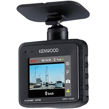 ケンウッド フルHD GPS搭載ドライブレコーダー 16GBマイクロSDカード付属 DRV-340