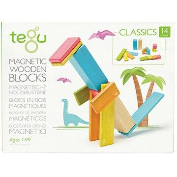 ダッドウェイ 【数量限定!ノベルティ付き!】tegu(テグ) マグネットブロック/14ピース/ティント TYTU00301