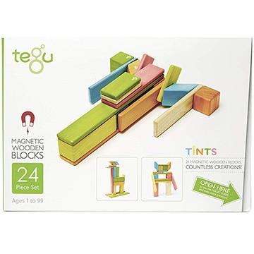 DADWAY 【数量限定!ノベルティ付き!】tegu(テグ) マグネットブロック/24ピース/ティント TYTU00401