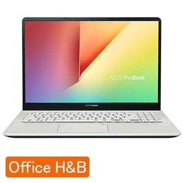 ASUS ノートパソコン office付き 新品 VivoBook S15 アイシクルゴールド S530UA-BQ361TS