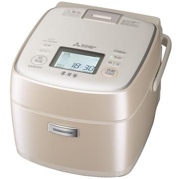 三菱 IH炊飯器 本炭釜 3.5合炊き 白和三盆 NJ-SWA06-W