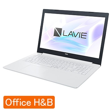 NEC LAVIE Smart NS Corei7 12GB 1TB HDD+16GB Optaneメモリ カームホワイト PC-SN186JDAF-4