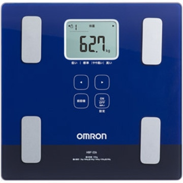OMRON 体重体組成計 カラダスキャン ダークブルー HBF-226-DB