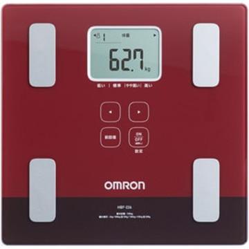 OMRON 体重体組成計 カラダスキャン レッド HBF-226-R