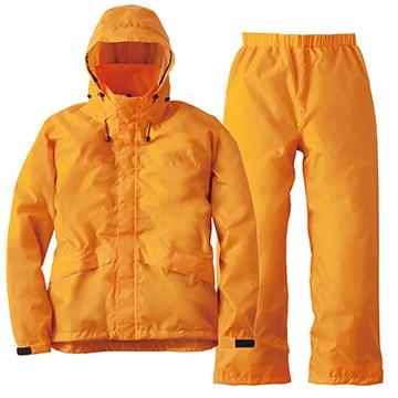 ロゴス ■透湿レインスーツ アルフ オレンジ LL 28652561