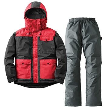 ロゴスコーポレーション ■汚れに強い防水防寒スーツ カーター ブラック M 30340713