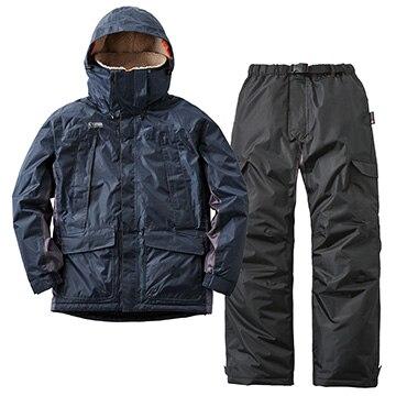 ロゴスコーポレーション ■動作快適防水防寒スーツ カーティス ネイビー LL 30342281