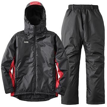 ロゴス ■防水防寒スーツ ステイシー レッド M 30348413