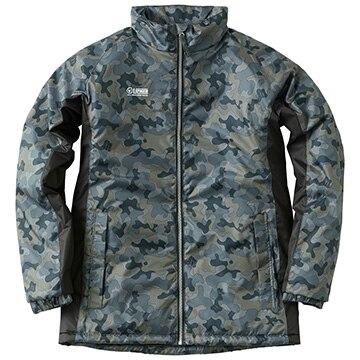 ロゴス ■丸洗い防寒ジャケット ロドニー カモフラージュ 3L 30395830
