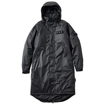 ロゴス ■バックパック防水防寒コート スリンキー ブラック M 30515713