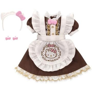 タカラトミー リカちゃん キティ スイーツカフェ ドレス