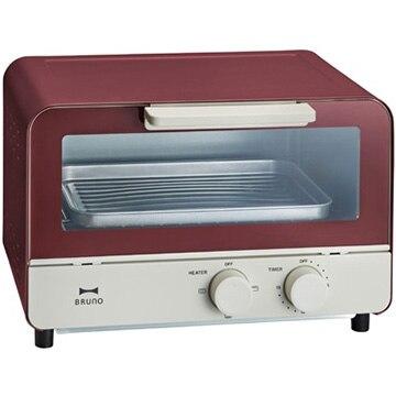 イデアインターナショナル ブルーノ オーブントースター レッド BOE052-RD