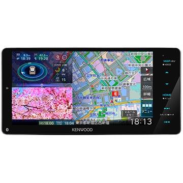 JVCケンウッド 彩速ナビ 7V型ワイドメモリーカーナビ/地デジ/ハイレゾ対応/DVD/Bluetooth内蔵/HDパネル搭載 MDV-M906HDW