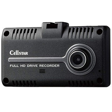 セルスター バックカメラ連動機能付き200万画素ドライブレコーダー CS-31F