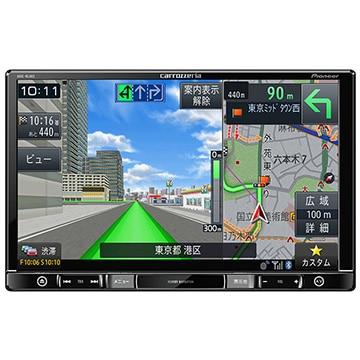 パイオニア 楽ナビ 8V型 メモリーナビ/地上デジ/DVD/Bluetooth AVIC-RL902