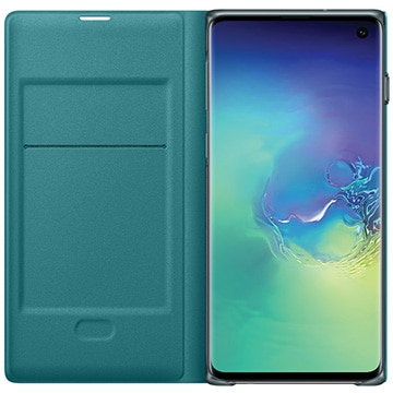 Galaxy S10 LED View Cover Green