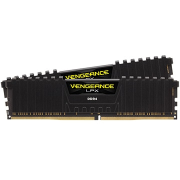 DDR4 3000MHz 32GB(16GB×2枚組) 288ピン DIMM Unbuffered 15-17-17-35 Vengeance LPX ブラック