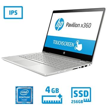 HP Pavilion x360 14-cd (14.0型/Pentium-4415U/メモリ 4GB/SSD 256GB/なんでも相談デラックス付) 5DB15PA-AAAG