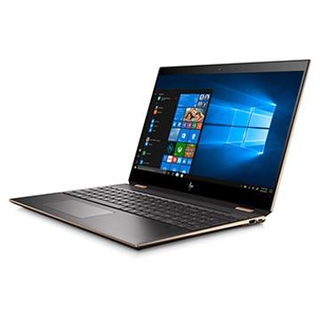 HP Spectre x360 15-df (15.6型/i7-8750H/メモリ 16GB/SSD 512GB/GTX1050Ti/4K/Office有/Win 10 Pro) 5KU78PA-AAAB