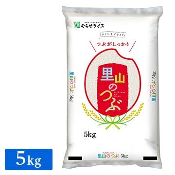 むらせ ■ 【精米】福島県産 里山のつぶ 5kg 25622