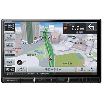 Pioneer 楽ナビ 8V型HD液晶 メモリーナビ/地上デジ/DVD/Bluetooth AVIC-RL910