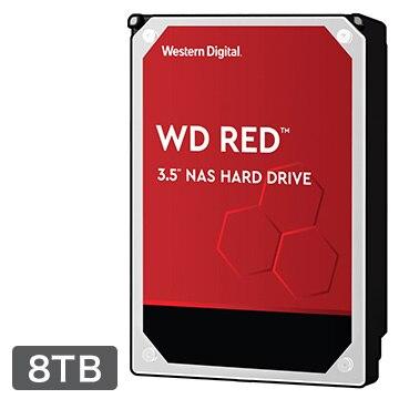 WESTERNDIGITAL 内蔵ハードディスク NAS用途向け 8TB 3.5インチ Red 3年保証 WD80EFAX