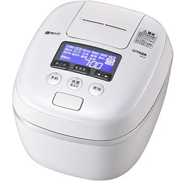 タイガー魔法瓶 圧力IH炊飯器 炊きたて 5.5合炊き エアリーホワイト JPC-G100-WA