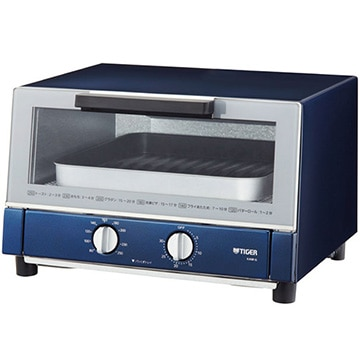 タイガー魔法瓶 オーブントースター やきたて1300W ネイビー KAM-G130-AN