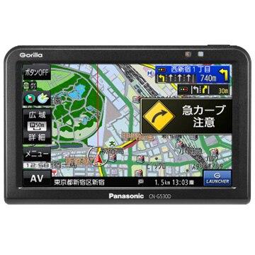Panasonic 5V型 SSDポータブルカーナビゲーション CN-G530D