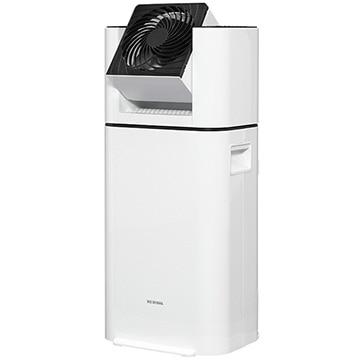アイリスオーヤマ サーキュレーター衣類乾燥除湿機 デシカント式 ホワイト IJD-I50