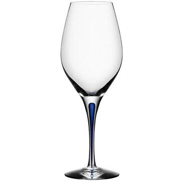 Orrefors(オレフォス) スウェーデン INTERMEZZO ワイングラス バランス ブルー 6257419