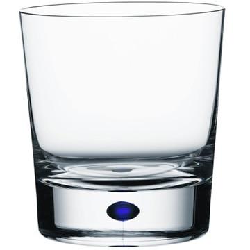 Orrefors(オレフォス) スウェーデン INTERMEZZO ダブルオールドグラス ブルー 6257441